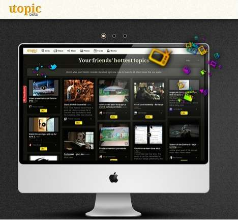 Topic Trending Social Media Sites - Utopic Keeps You Up-to-Date on All Your Friend's Interests