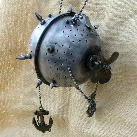 Steampunk Clutch
