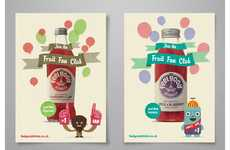 Cheerful Drink Ads