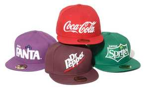 The Drink Logo Collection by New Era x The Coca-Cola Company is Simply Fresh