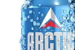 Arctic Beer Gets a Modern Makeover by Tank that Reflects Its Icy Nature