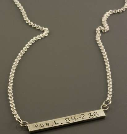 B-Side Japan Relief necklace