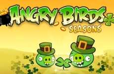 Green Holiday Avian Gaming - The Angry Birds St. Patrick's Day Edition Game is Super Festive