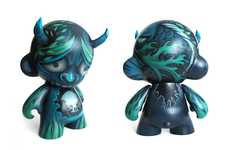Devilishly Painted Demon Dolls - Nena Nguyen Designs Customized Vinyl Toys