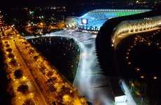 Solar Saddle Stadiums