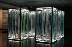 Infinite Forest Sculptures