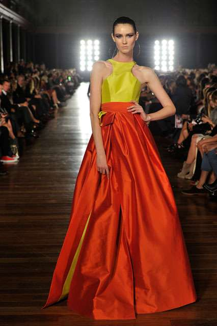 Rainbow Colorblock Gowns - The Alex Perry Collection for Spring/Summer 2011/2012 is Beautifully Bold