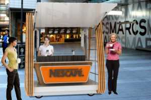 The Nescafe Nomadic Cafe Center Gives You Your Caffeine Kick Anywhere