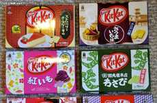 These Japanese Kit Kat Bars will Satisfy your Hunger for New Sweet Tastes