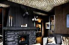 Rustic Luxury Hotels - Le Lodge Park in Paris is the Ultimate Ski-Lover's Destination