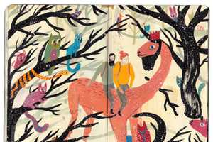Nicholas Stevenson Draws Mysteriously Bright Fairy Tale Images