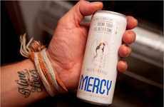 Canned Hangover Remedies - The Mercy Drink Combats Hangovers Before They Start