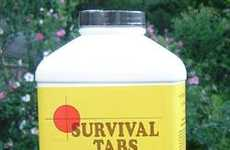 Survivalist Supplements - Survival Tabs Are Food Rations for Post-Armageddon Pill-Poppers