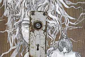 Kate Hanrahan Produces Spectacular Cutout Artworks
