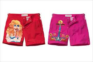 Orlebar Brown Swim Shorts Get Sweet Alan Aldridge Illustrations