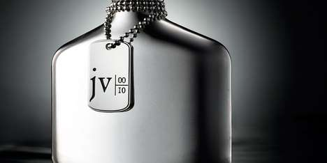 John Varvatos 10th Anniversary Fragrance Comes with Sleek Chain