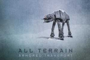 Pacalin Turns Star Wars Vehicles into Plausible Print Advertisments