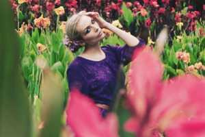 Jacinta Rosewarne's Kiana Vintage Lookbook Features Christina Delaney