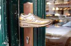 The Metrofarm Sneakerknob Door Handles Enhance the Company's Retail Presence