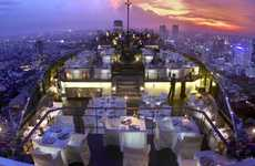 Luxury Skyscraper Hotels - Banyan Tree Bangkok is a Towering Thai Resort Without Equal