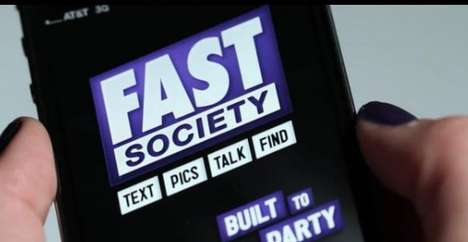 Time-Out Texting - Fast Society Gives the Heavy Texter's Thumbs a Much Needed Break