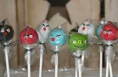 Avian Dessert Delights - Angry Birds Cake Pops are a Scrumptious Gaming Treat