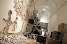 Destroyed Art Exhibits - Antonio Cachola Showcases Amazing Works of Art in 'Museum in Ruins'