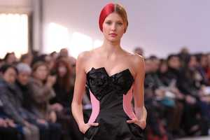 The Alexis Mabille 2010/2011 Collection Mixes Sci-Fi and Natural Hair