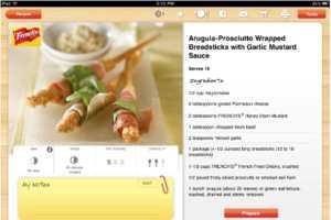 iCookbook iPad App Offers Hands-Free Voice Commands