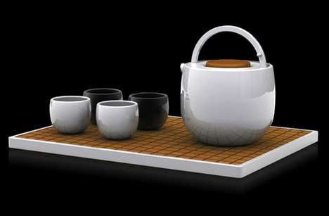 Go Tea Set by Arthur Xin