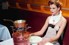 Retro Diva Dining Lookbooks