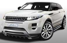 Sport-Styled SUVs - The Range Rover Evoque Ar8 City-Roader by Arden is a Nice Face-Lift