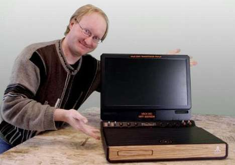 Retro Gaming Reconfigurations - The Xbox 1977 Edition by Ben Heck Merges an Xbox360 With an Atari