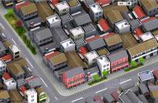 Pixelized Street Finders - Baidu Maps is China's Take on the Google Map System