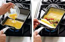 Easy Egg Cookware - The Nordic Ware Rolled Omelette Pan Ensures Quick and Healthy Meals