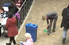 Recycling Flashmobs -  This Eco-Conscious Stunt by Teste sur des Humains Makes a Profound Point
