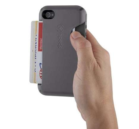 Phone-Protecting Money Clips - The Speck CandyShell Card iPhone Case Doubles as a Wallet