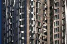 Frank Gehry's Wrinkled Beekman Tower has a Dynamic Exterior