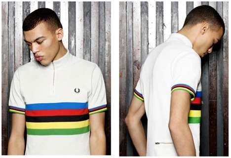 Fred Perry Cycling Blank Canvas