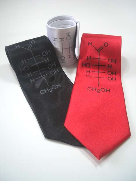 Geek-Chic Men's Accessories - These Ties by Michael Phipps and Projector are Both Stylish and Nerdy