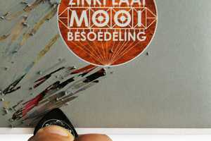Scrape Away Layers to Reveal the Zinkplaat Mooi Besoedeling Album Cover