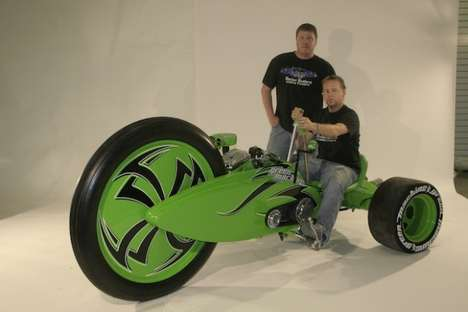 Monster-Sized Bigwheels - The Parker Brothers Green Machine is a Bigwheel for Adults