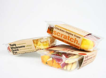 Home Cooking Kits - The Scratch Food Collection Makes You an Instant Chef