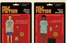 Pulp Fiction Action Figure Posters Join the Quentin vs. Coen Gallery