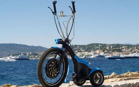 Electric Mini Mopeds - The Qugo by Urban Mobility Europe is a Green Three-Wheeler for Commuters