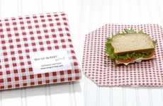Reusable Lunch Wrappers - The Wrap n Mat is a Lightweight Food Container Option