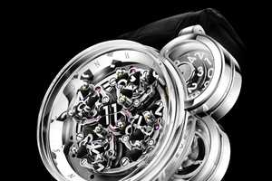 The Harry Winston Opus Eleven is an Artistic Masterpiece