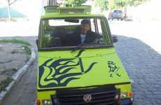 Orismar de Souza is a Homeless Man Who Built a Car Out of Junk