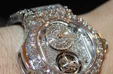 Blinding Bling Chronographs - The $3 Million Hublot Big Bang is an Iced-Out Timepiece