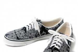 The SWAGGER Cross Paisley Sneakers are a Tough Pair of Footwear